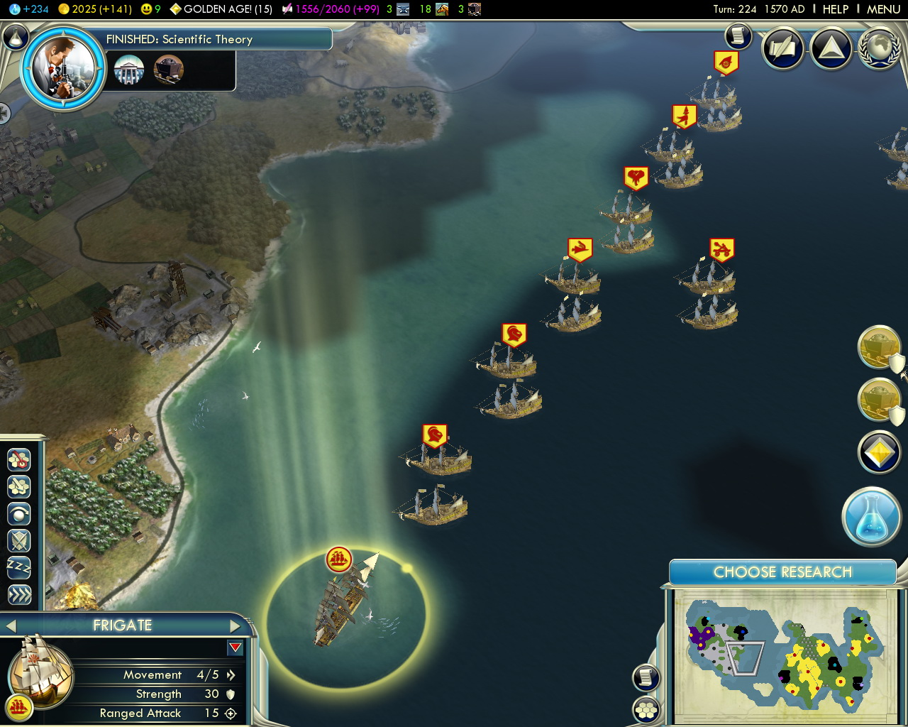 civilization 5 escort unit